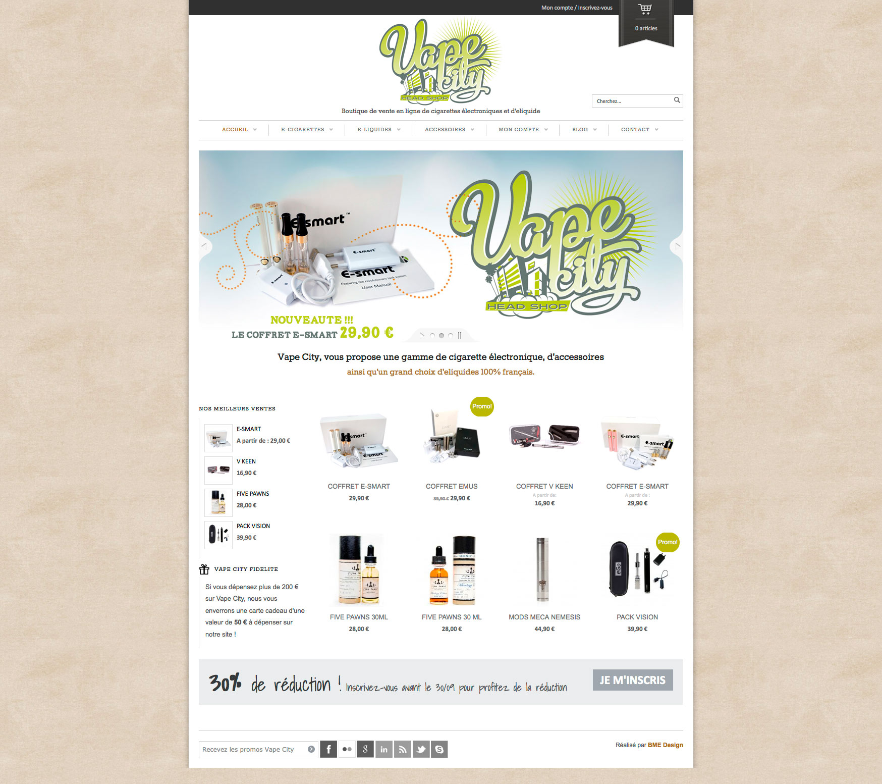 Vape-City-homepage