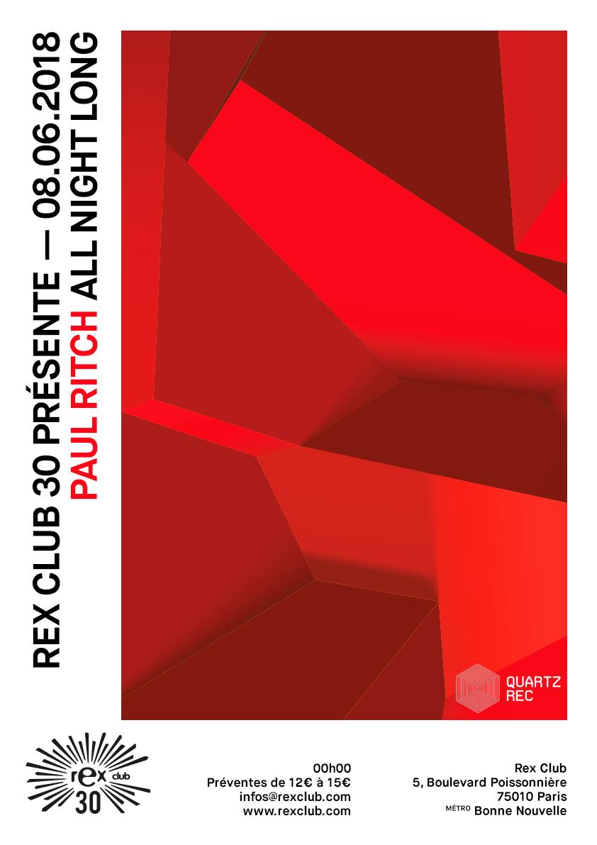 20180608_rex_club_30_paul_ritch_poster_A3_promo