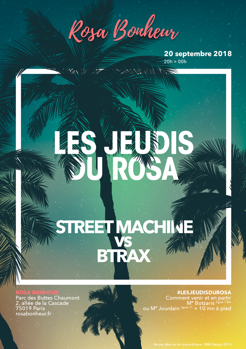 200918_jeudi_du_rosa_street_machine_btrax_poster_A3
